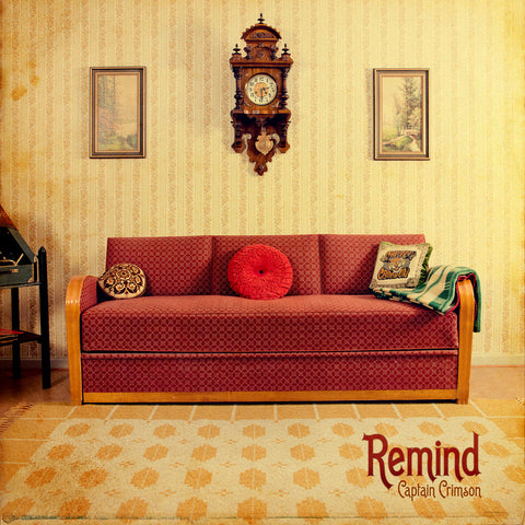 Captain Crimson - Remind LP Vinyl (Color/180 gram)