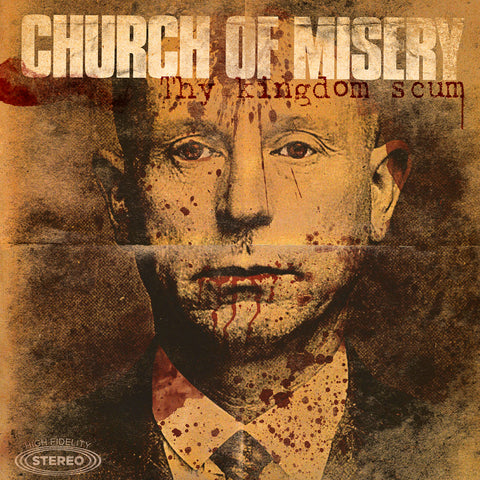 Church of Misery - Thy Kingdom Scum Vinyl 2LP (Brown/Import)