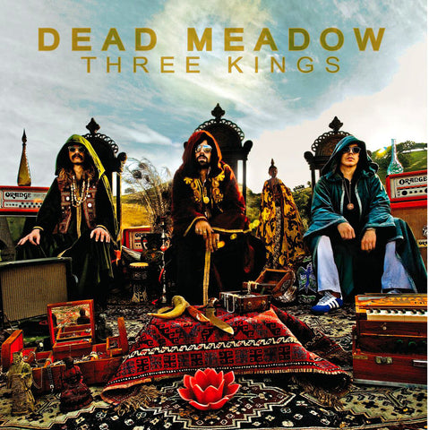 Dead Meadow - Three Kings CD (Bonus DVD)