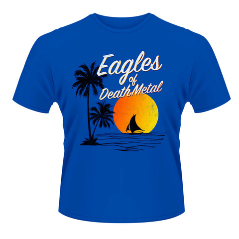 Eagles of Death Metal - Ocean T-shirt $17 (Royal Blue)