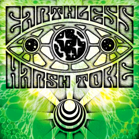 Earthless/Harsh Toke - Split Vinyl LP (Blue Splatter)