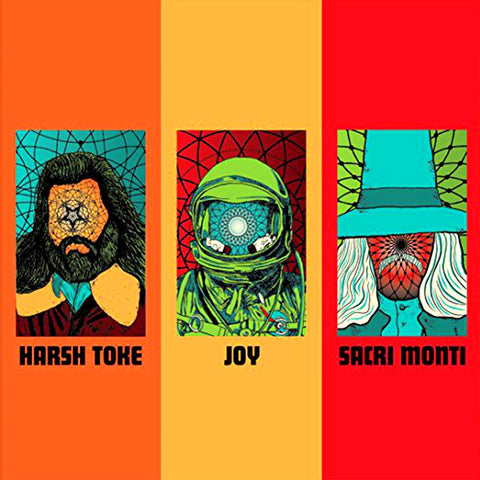 Harsh Toke/Joy/Sacri Monte - Burnout CD