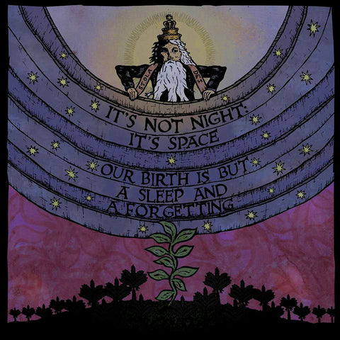 It's Not Night, It's Space - Our Birth Is But a Sleep and a Forgetting LP Vinyl (Translucent Purple)