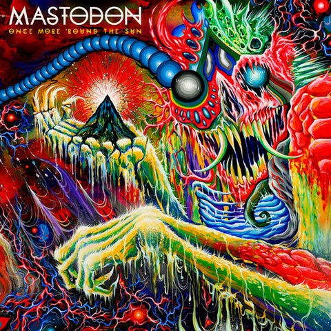 Mastodon - Once More 'Round the Sun 2LP Vinyl (Color)