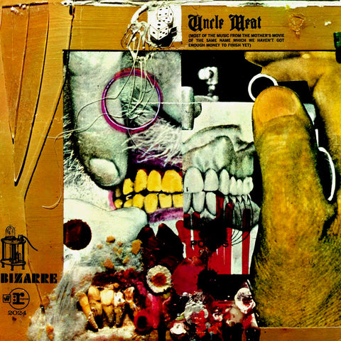 The Mothers of Invention - Uncle Meat 2LP Vinyl