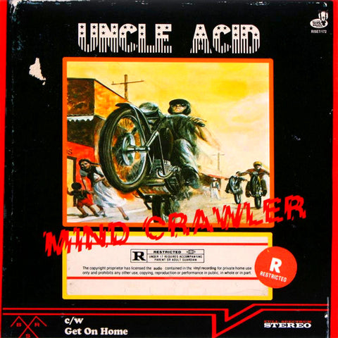 Uncle Acid & The Deadbeats - Mind Crawler 7 inch (Import)