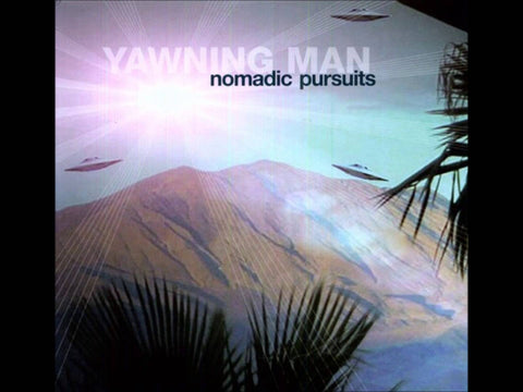 Yawning Man - Nomadic Pursuits LP Vinyl (Blue Marble)