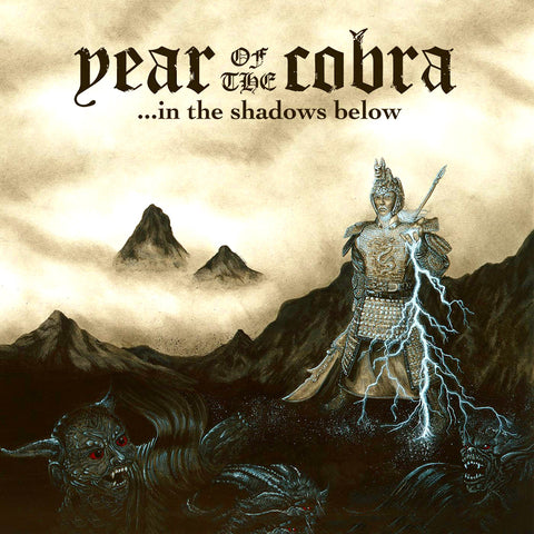 Year of the Cobra - ...In the Shadows Below LP Vinyl (Oxblood/180 gram)