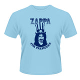 Frank Zappa - Zappa for President T-shirt (Light Blue) $17