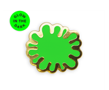 Glow-In-The-Dark Splat!