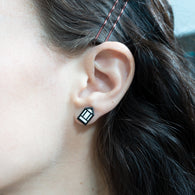 Pencil Cursor Earrings