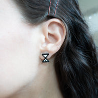 Hourglass Cursor Earrings