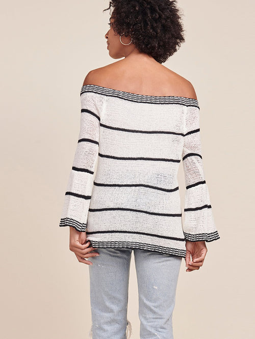 BB Dakota Shelly Off the Shoulder Sweater