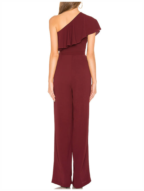 BB Dakota L.A. Woman One Shoulder Jumpsuit