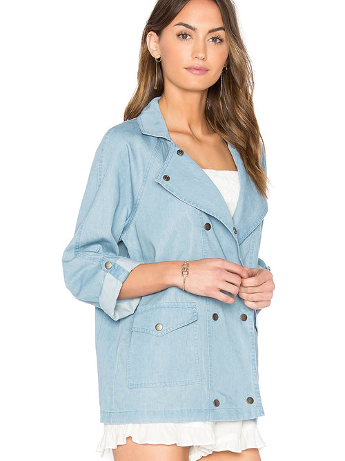 BB Dakota Raines Chambray Jacket
