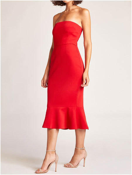 eed19c963d BB Dakota Light My Fire Strapless Dress – Imber Boutique