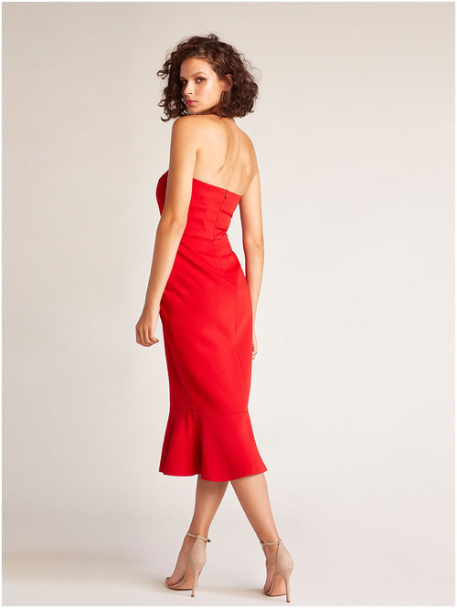 BB Dakota Light My Fire Strapless Dress