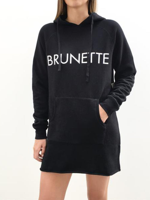 """BRUNETTE"" The Hoodie Dress"