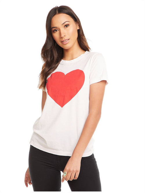 Chaser Brand - Red Heart Tee