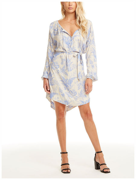 Faithfull The Brand Clarence Button Down Mini Dress