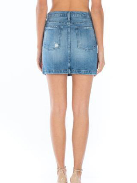 Collette Denim Mini Skirt