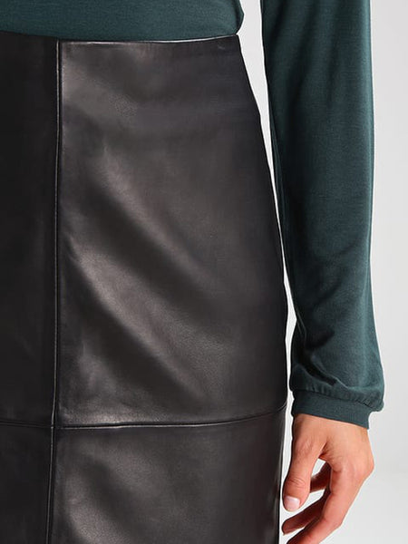 Colly Leather Mini Skirt