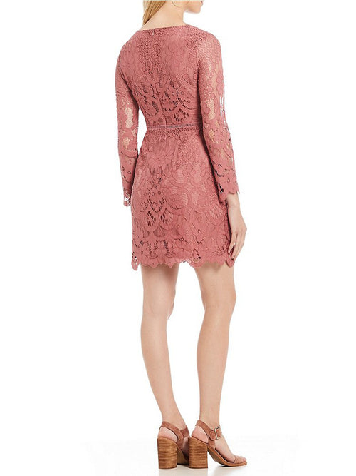 Cupcakes & Cashmere Makenna Lace Dress