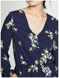 Cupcakes and Cashmere Dorene Floral Romper