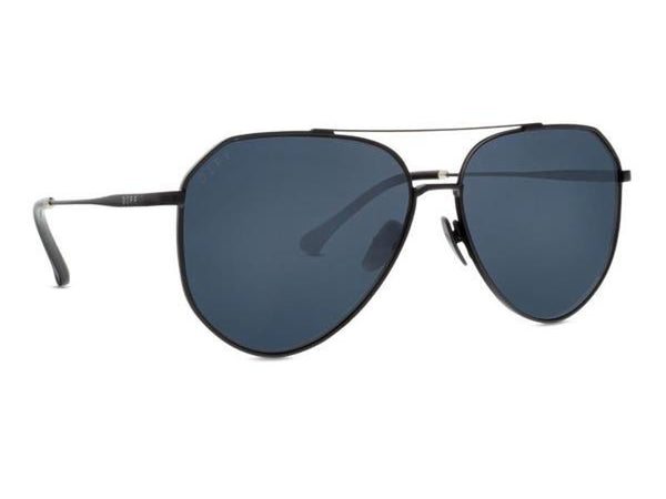 Diff Eyewear - Dash Matte Black Sunglasses