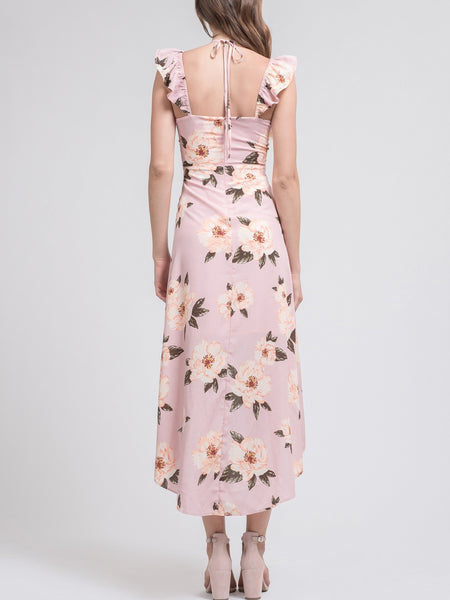 J.O.A. High Low Maxi Dress
