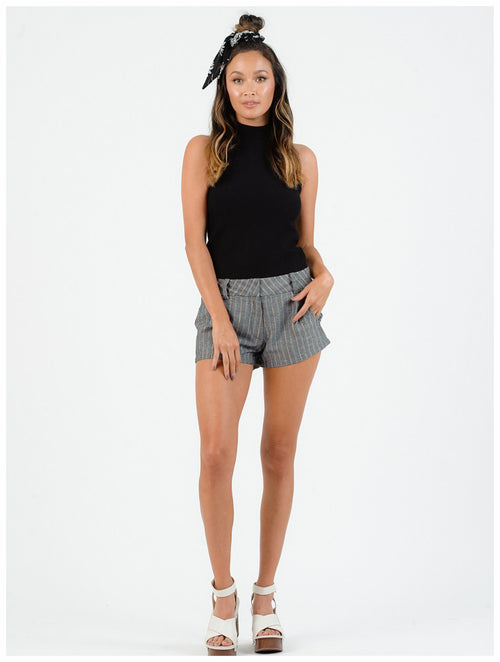 Lucca Couture - Kauai High Waist Mini Shorts