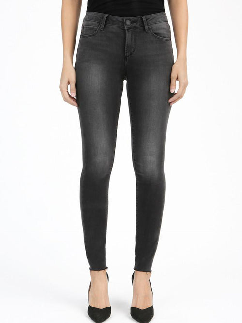 Sarah Higgins Raw Hem Skinny Denim