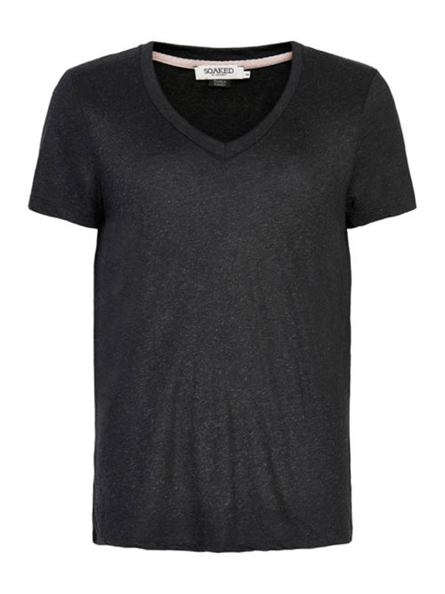 Soaked in Luxury  Alima Tee - Black