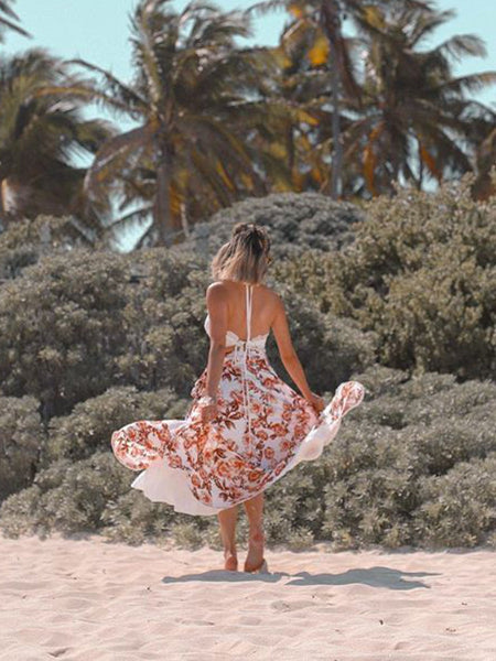 Somedays Lovin' Dancing Tides Maxi Wrap Skirt