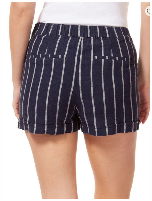 Dex Paperbag Striped Shorts