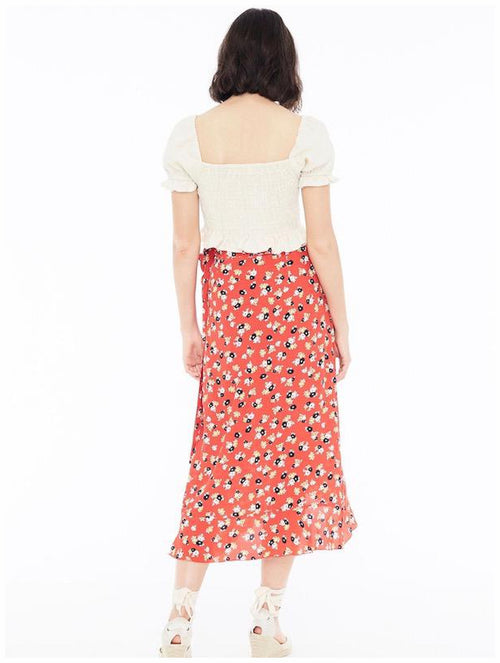 Faithfull The Brand Celeste Wrap Skirt