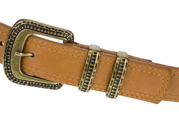 Lovestrength Florence Belt in Cognac