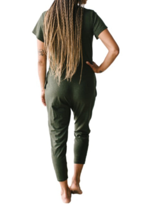 Smash & Tess - Sunday Romper - Olive Green