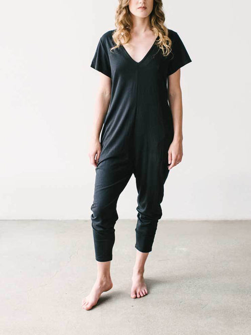 Smash & Tess - Sunday Romper - Midnight Black
