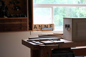 Anne woodshop in Washington
