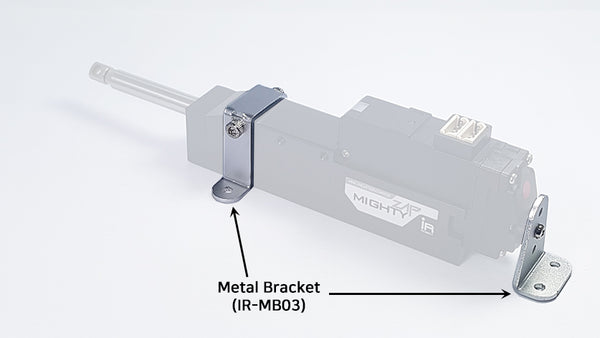 Metal Bracket (IR-MB03) - For 41mm(1.61in), 56mm(2.20in), 96mm(3.78in) Stroke Version Only