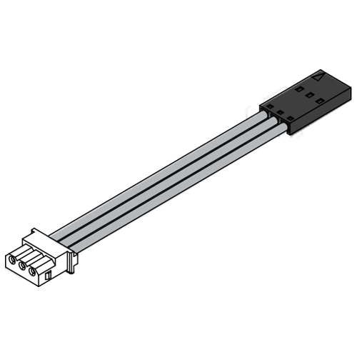 Basic Connector Wire (IR-EW06) - 200mm(7.87in) length with / 3pins PWM / 5pcs