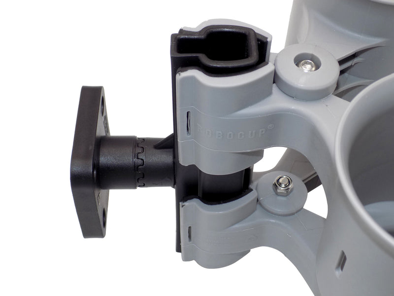 Swivel Mount Accessory:  Rotates 360 Degrees -- Pull to Adjust Angle