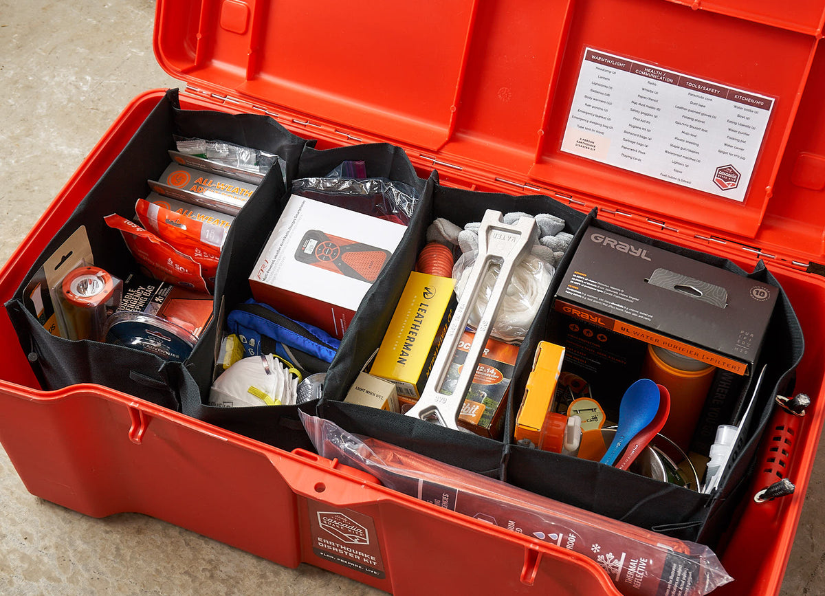 5-Person Comprehensive Earthquake Kit