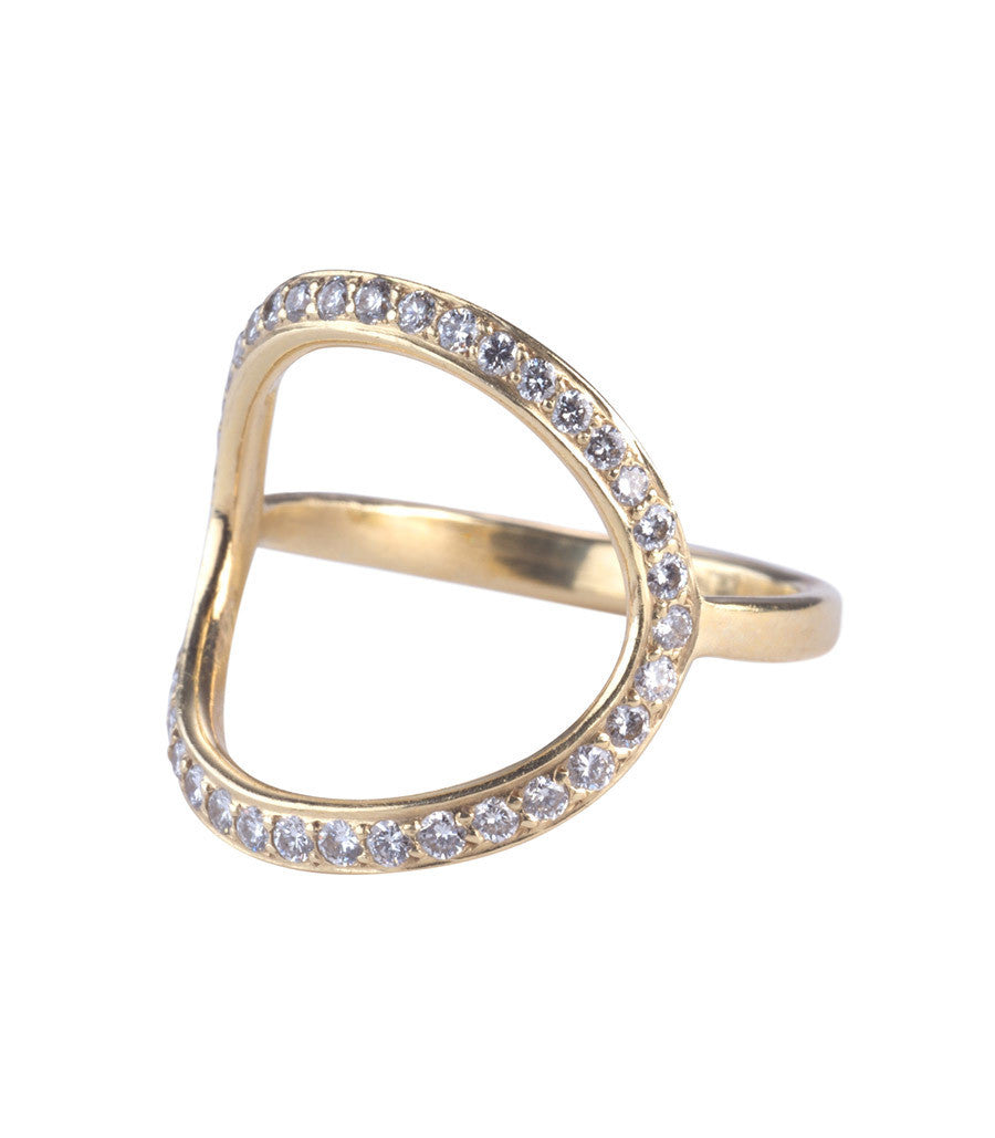 Circle Ring, Diamond