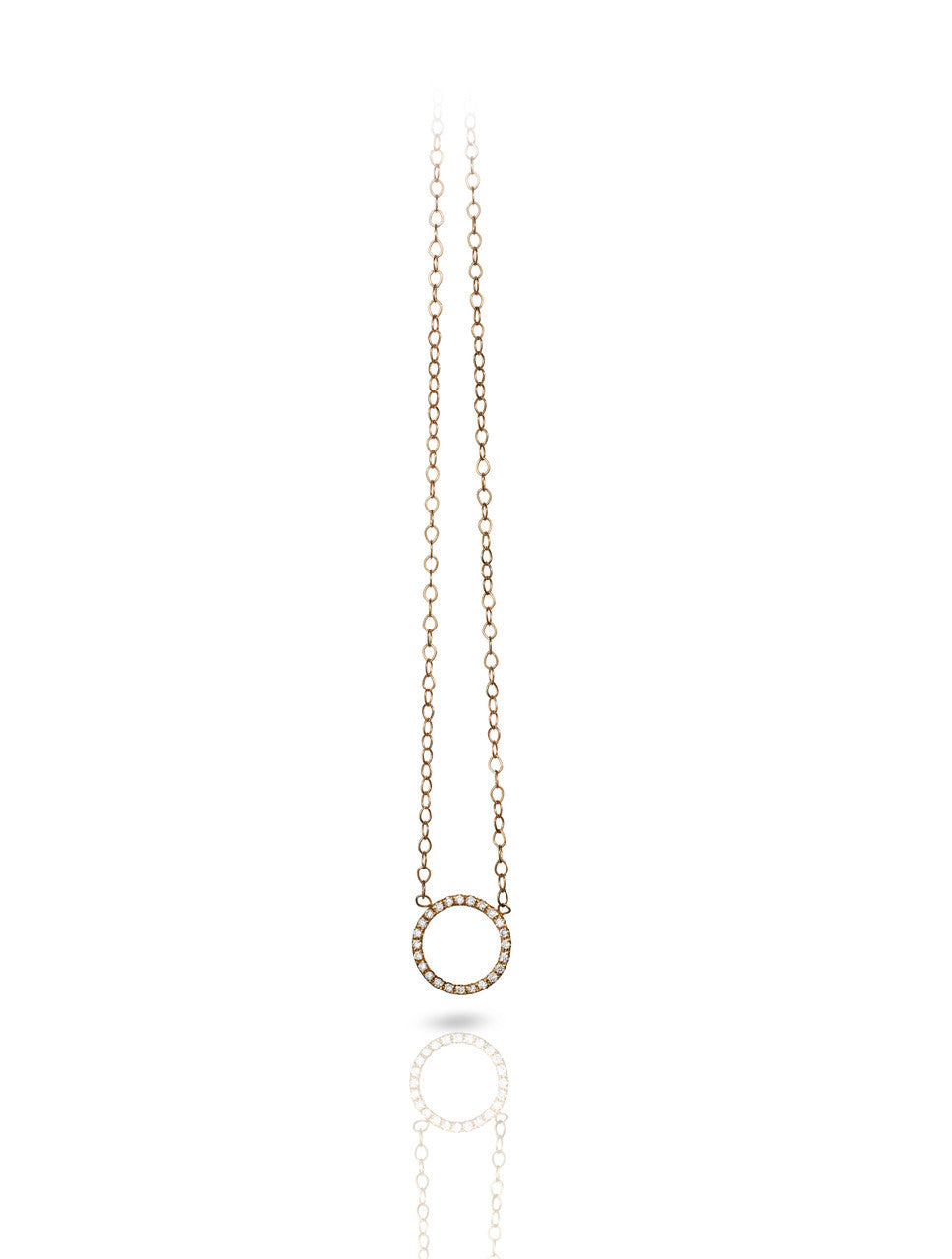 Diamond Notch Necklace