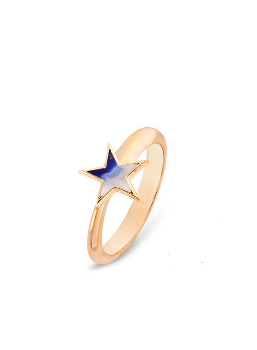 Ombre Surf Star Ring