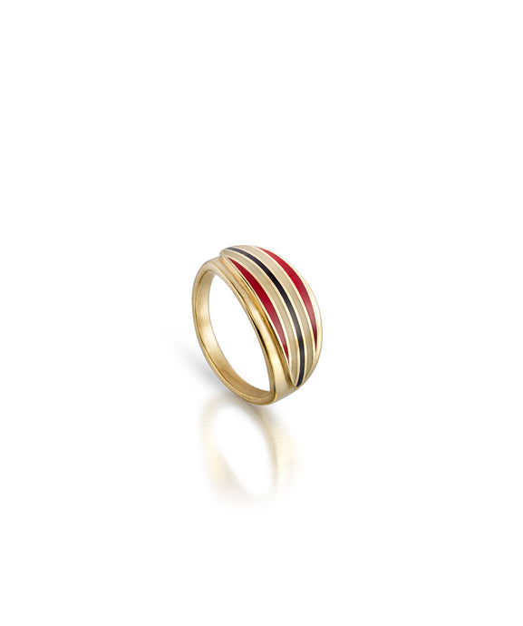 Striped Short Board Ring