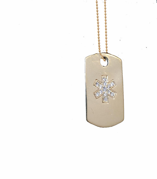 Dogma Tag (mini diamond)