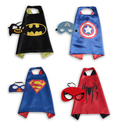 Boys' Super Hero Cape Set